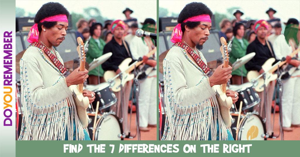 MisMatch- Jimi Hendrix at Woodstock