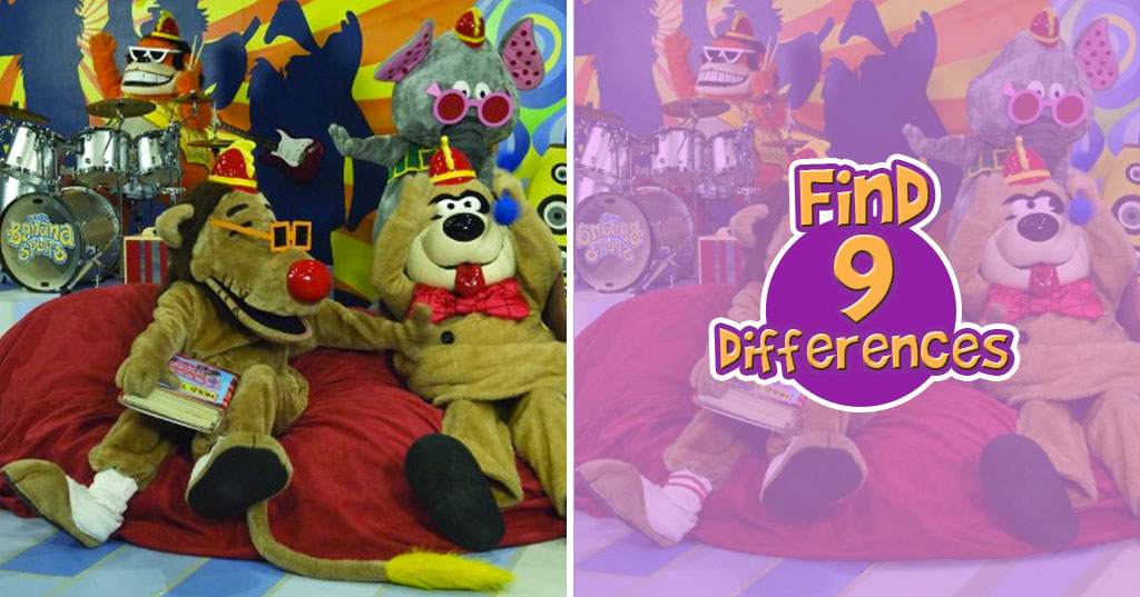MisMatch: Rocking Out with the Banana Splits