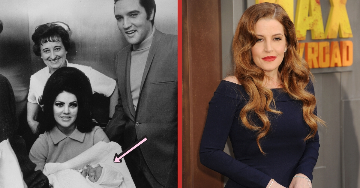 lisa marie presley through the years