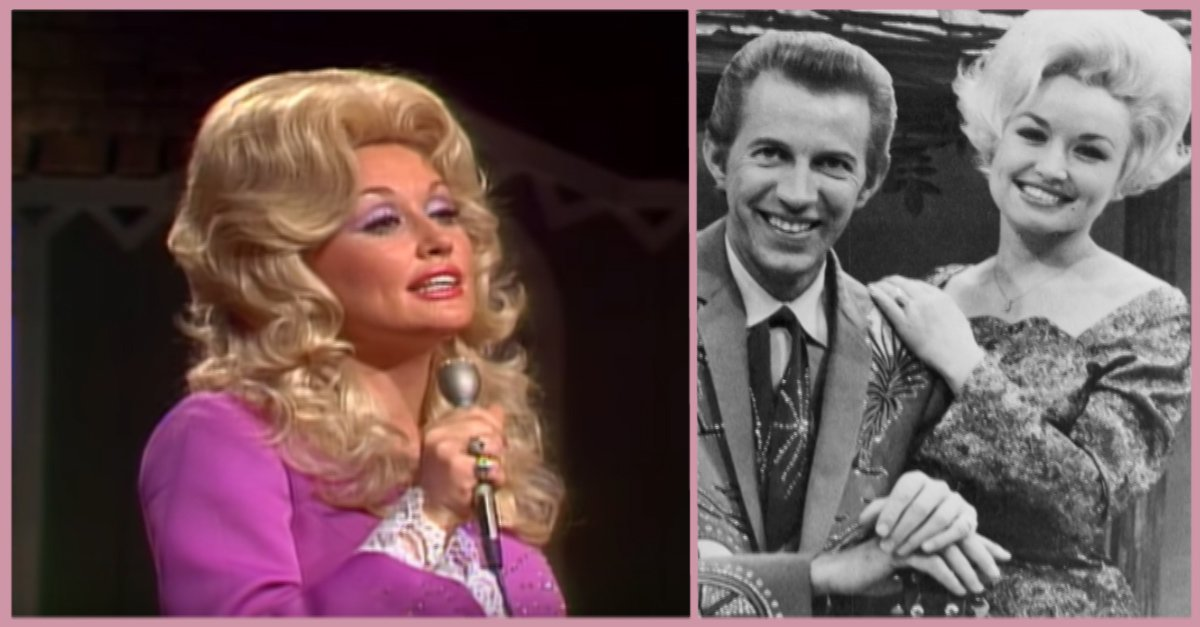 """Dolly Parton singing """"I Will Always Love You"""", formerly of Porter Wagoner's TV show."""