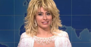 'SNL' Actress Impersonates The Incredible Dolly Parton