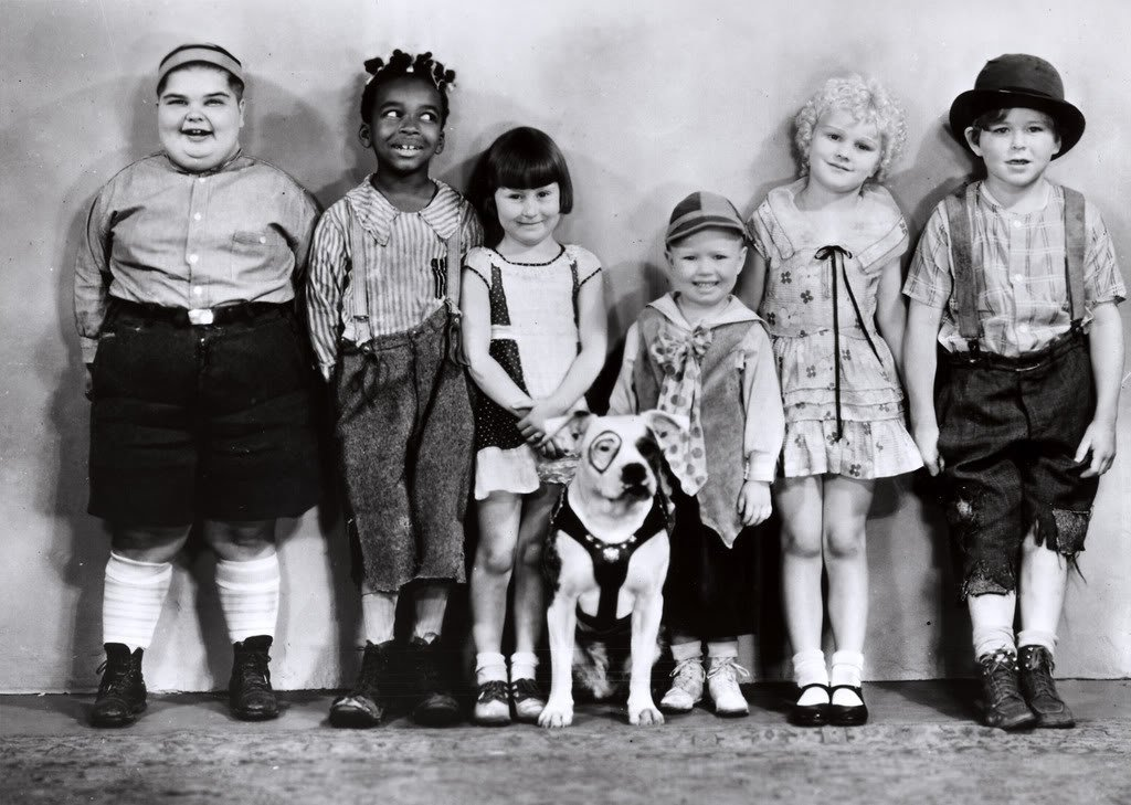 photo of the original little rascals cast