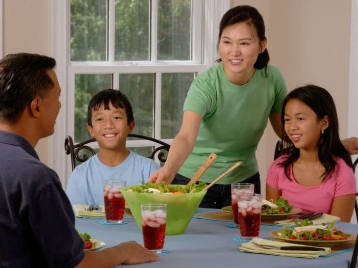 Family dinners may be here to stay a while longer