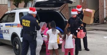Orlando PD Donates Christmas Gifts To More Than 200 Kids In Need