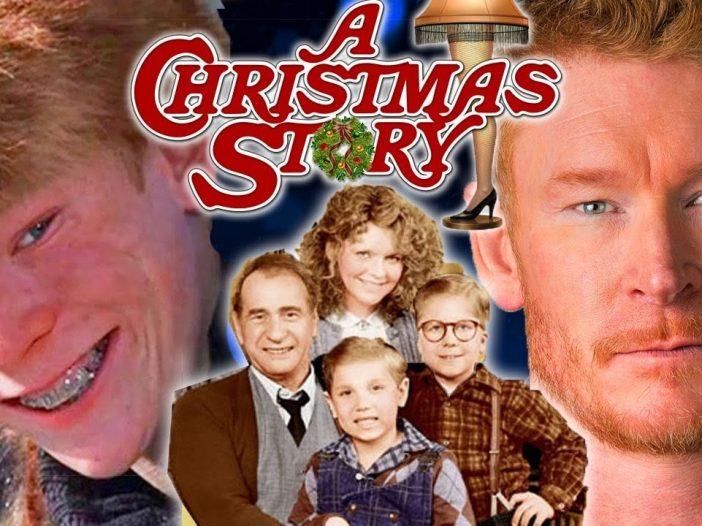 The 'A Chrismtas Story' cast then and now