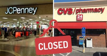 complete list of stores closing by the end of 2020