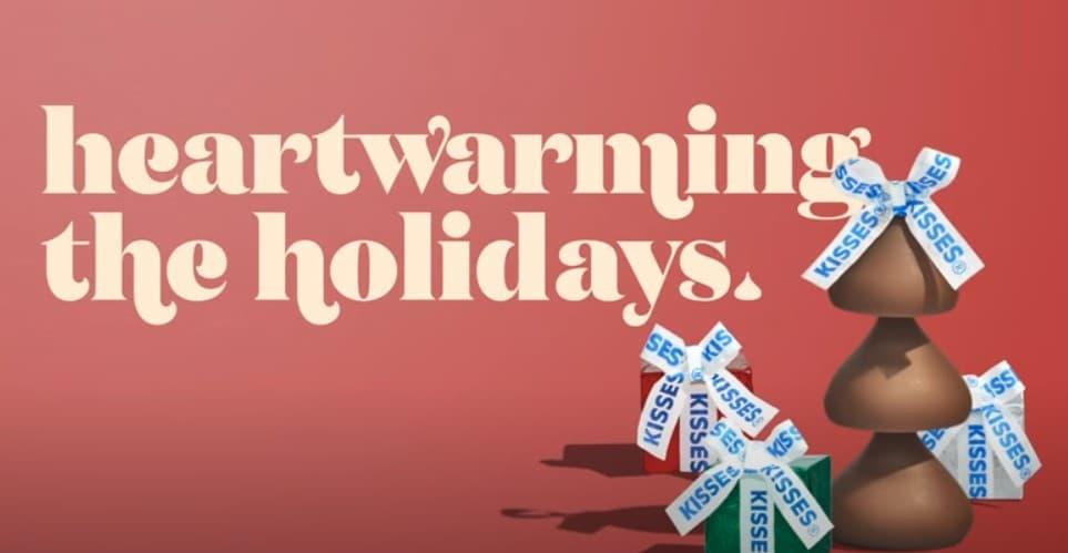 heartwarming the holidays hersheys kisses